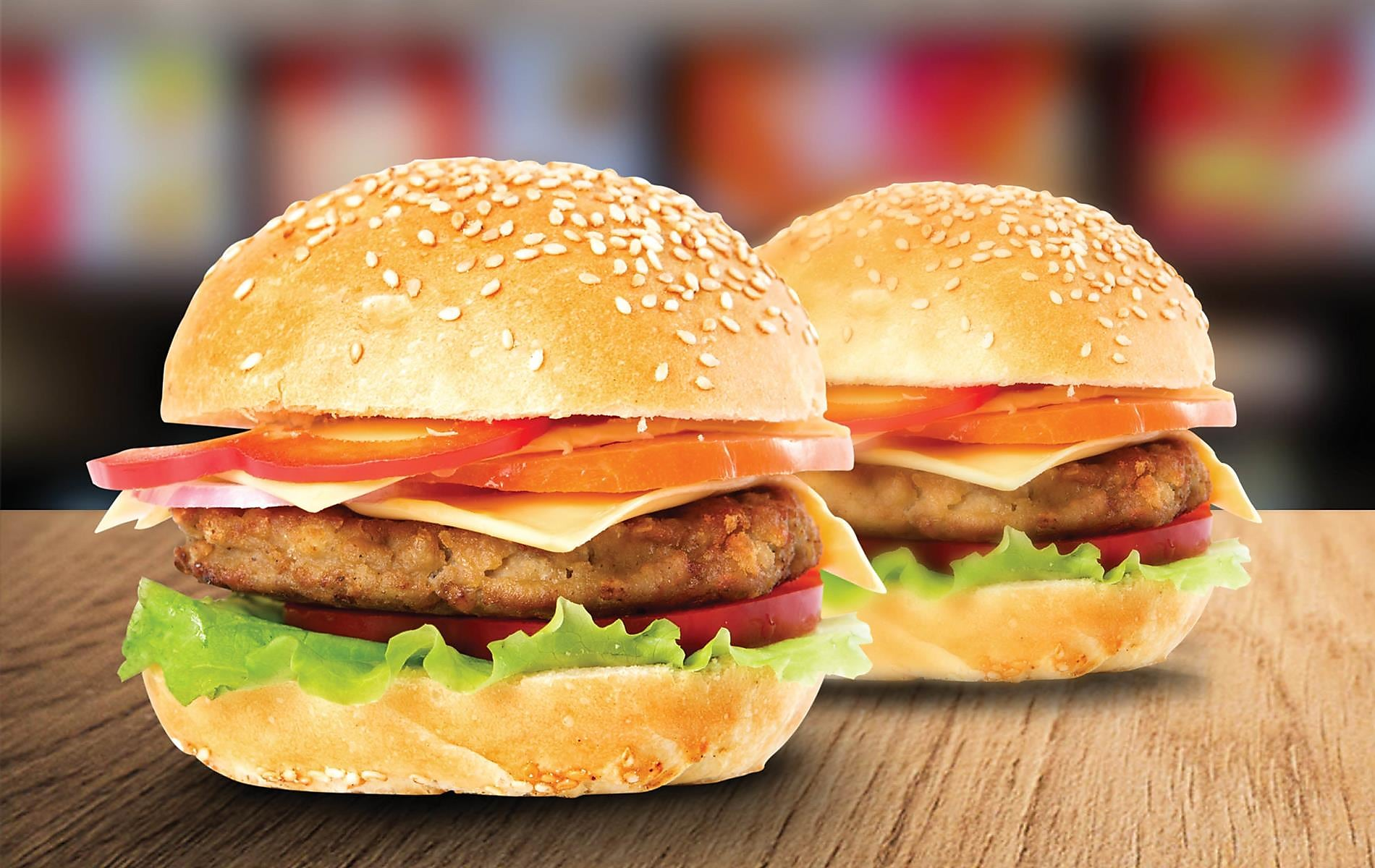 Double Deal Monday 2 x Chicken Burgers for N$49.90